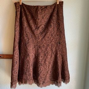 Ralph Lauren Lady Nice Brown Skirt